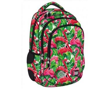 7f901092466aa Plecak 3-komorowy BP26 FLAMINGO PINK   GREEN