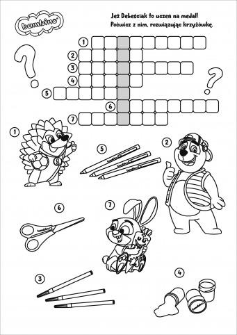 Krzyżówka dla dzieci