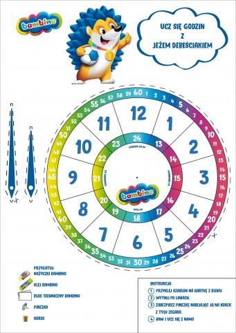 Nauka godzin dla dzieci